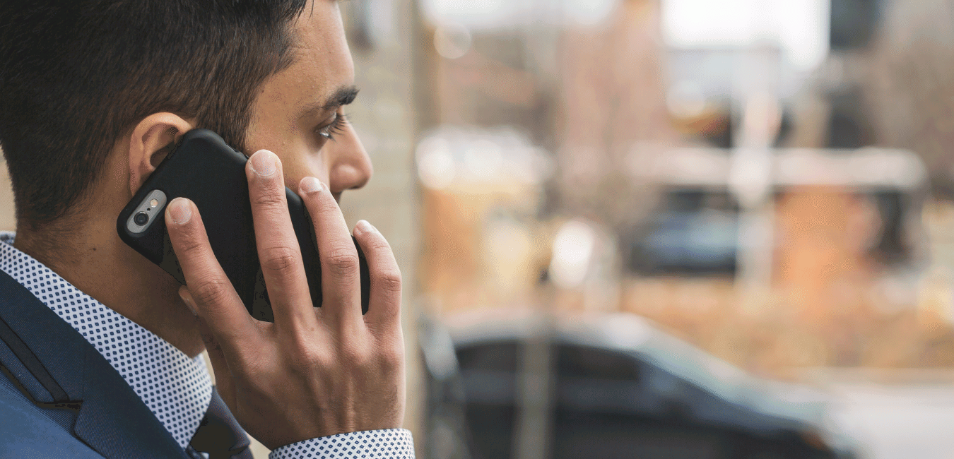 when to contact a personal injury lawyer - young man on the phone